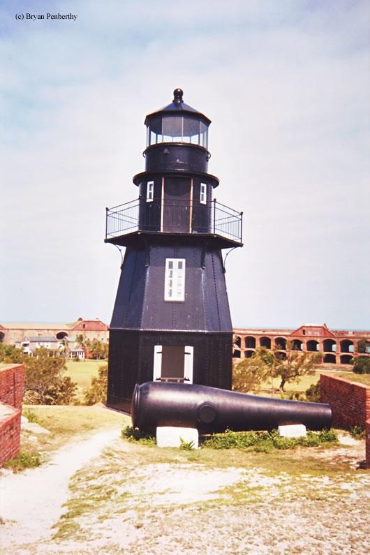 Garden Key Lighthouse , Dry Tortugas, Florida