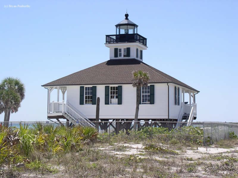 Photo of the Port Boca Grande (Gasparilla Island) Lighthouse.