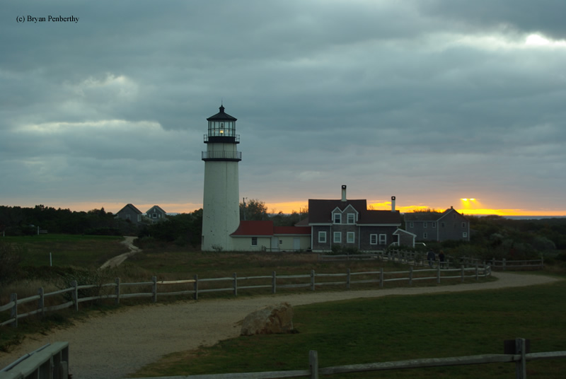 Photo of the Cape Cod (Highland) Lighthouse.