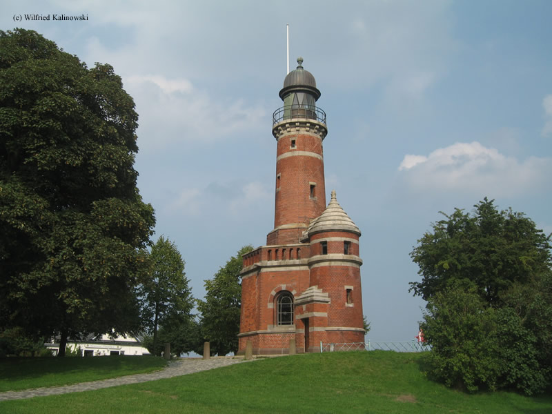 Photo of the Holtenau Nord Lighthouse.
