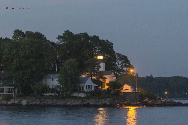 Photo of the Hospital Point Range Front Lighthouse.