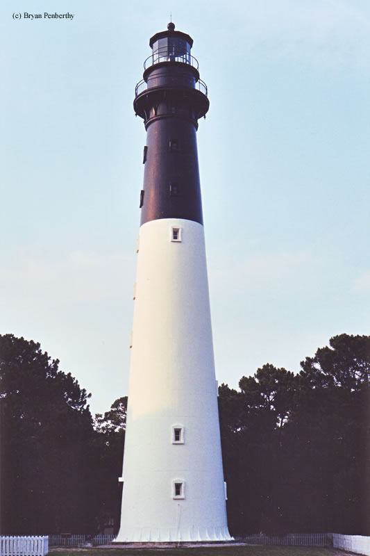 Photo of the Hunting Island Lighthouse.