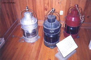 PRE MOVE: Lanterns from the museum.