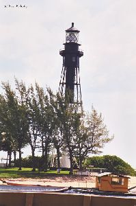 Lighthouse from across the canal.