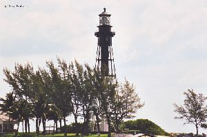Lighthouse photo in landscape mode.