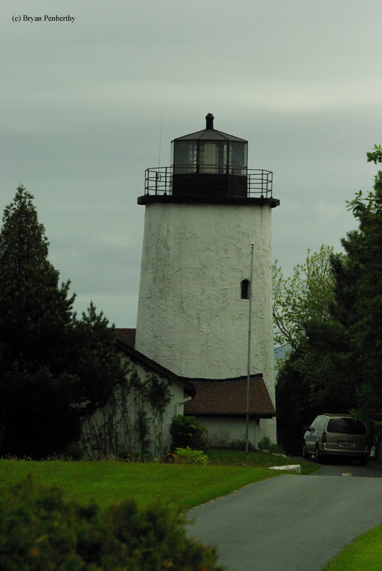 Photo of the Kevich Lighthouse.
