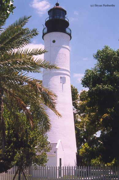 Photo of the Key West Lighthouse.