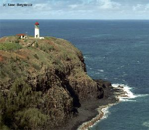 Great shot of the whole Kilauea Point Light.