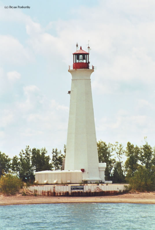 Photo of the Long Point Lighthouse.