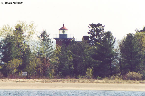 Photo of the Little Traverse Lighthouse.