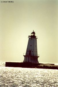 Another nice shot of the Ludington light.