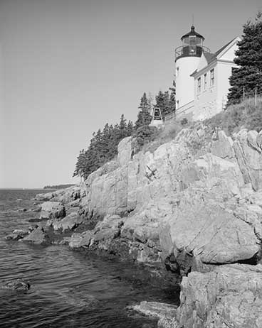 Library of Congress Photo of Bass Harbor Head Lighthouse