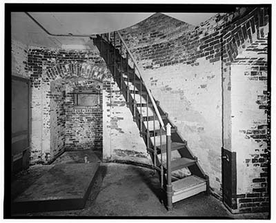 Library of Congress hoto of the Spring Point Ledge Lighthouse basement
