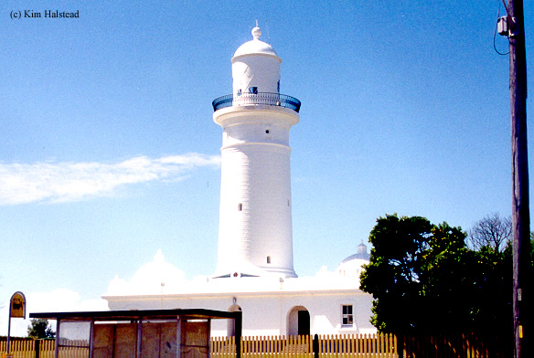 Photo of the Macquarie Lighthouse.