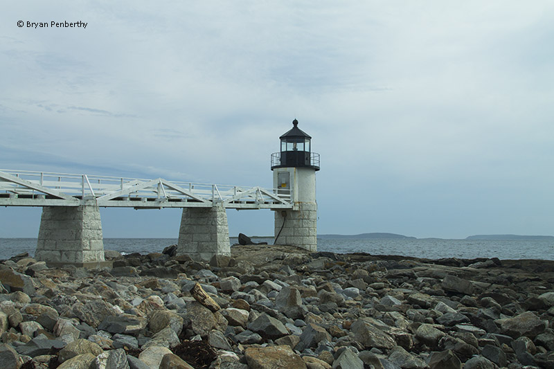 Photo of the Marshall Point Lighthouse.