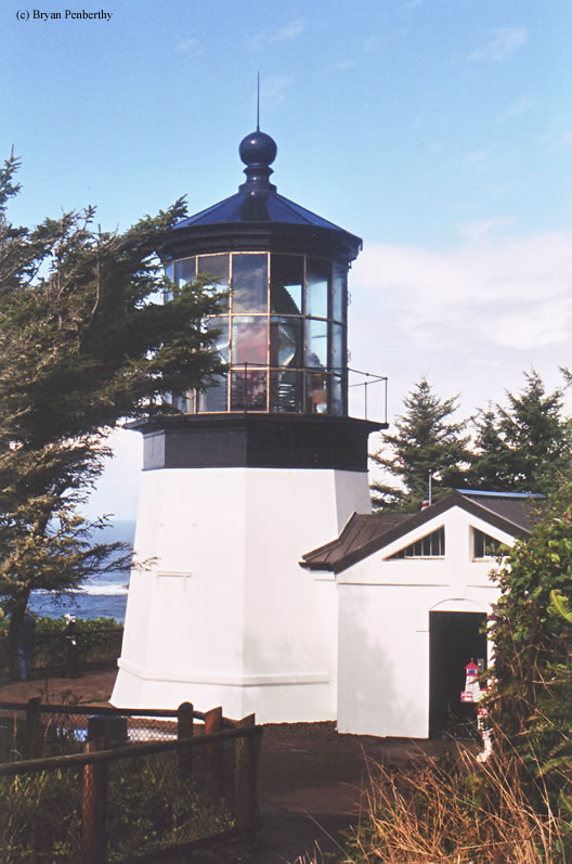 Photo of the Cape Meares Lighthouse.