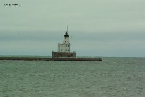 The breakwater lighthouse.