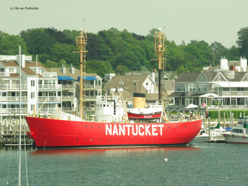 Photo of the Nantucket I Lightship (WLV-612).