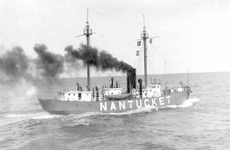 Photo of the Nantucket Lightship (LV-112/WAL-534).