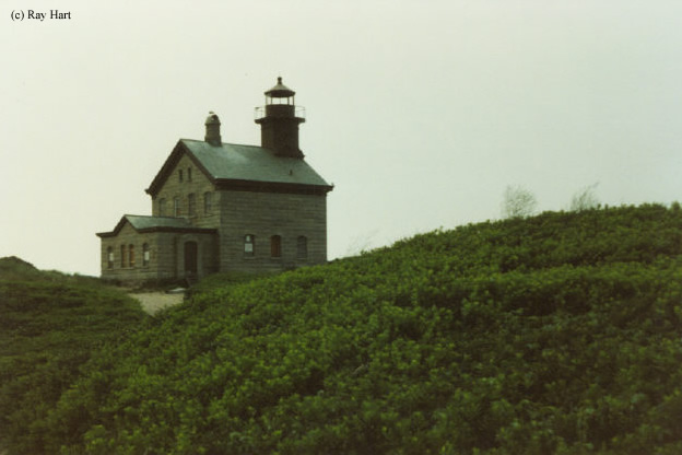 Photo of the Block Island North Lighthouse.