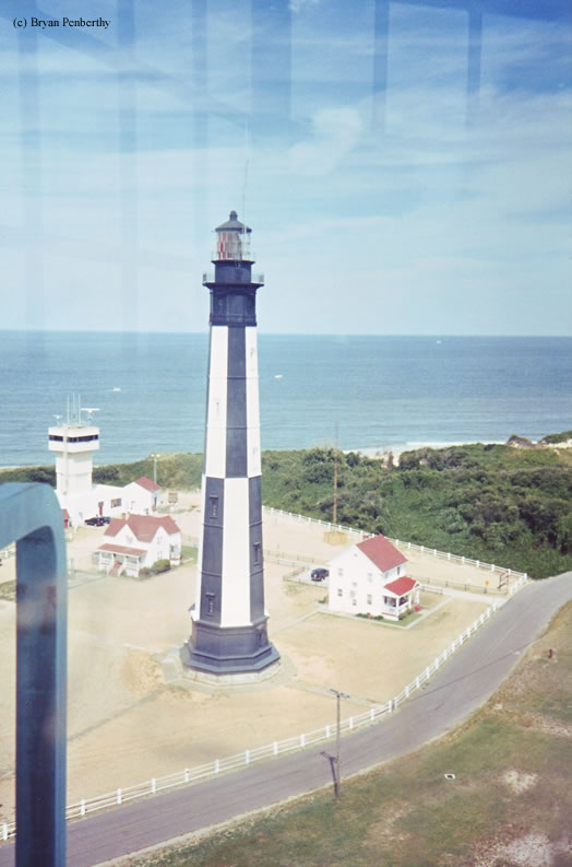 Photo of the New Cape Henry Lighthouse.