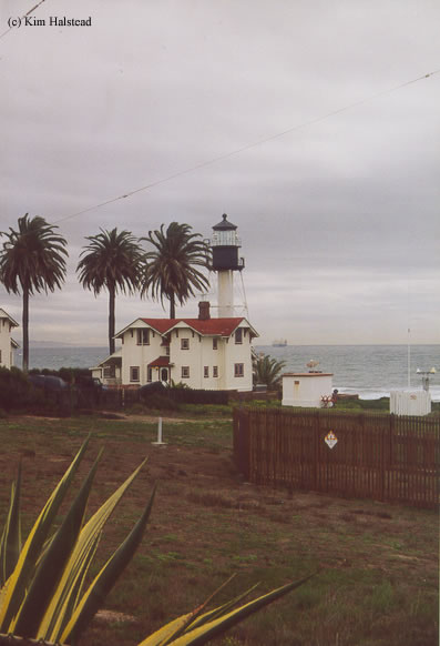 Photo of the New Point Loma Lighthouse.