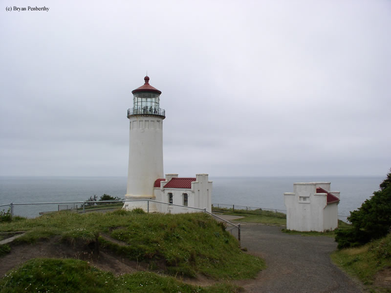 Photo of the North Head Lighthouse.