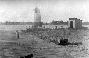 1885 Sodus Inner Lighthouse courtesy National Archives