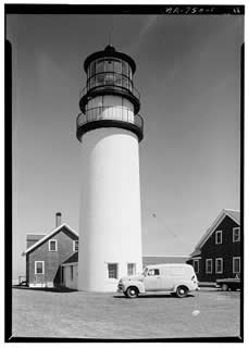 Highland Lighthouse courtesy National Archives