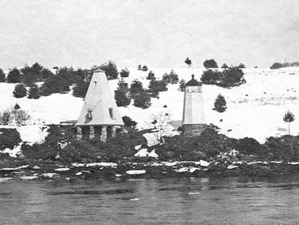National Archives Photo of the Doubling Point Lighthouse