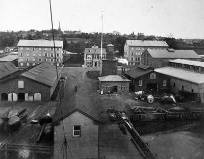 General Lighthouse Depot circa 1885, photo courtesy National Archives