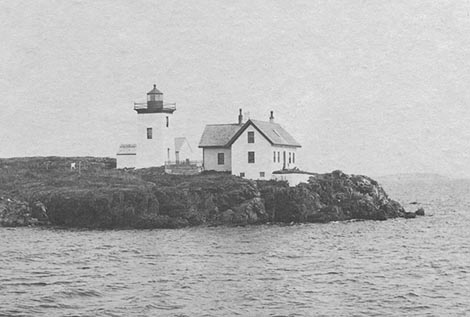 National Archives Photo of Indian Island Lighthouse
