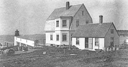 National Archives photo of the Marshall Point Lighthouse