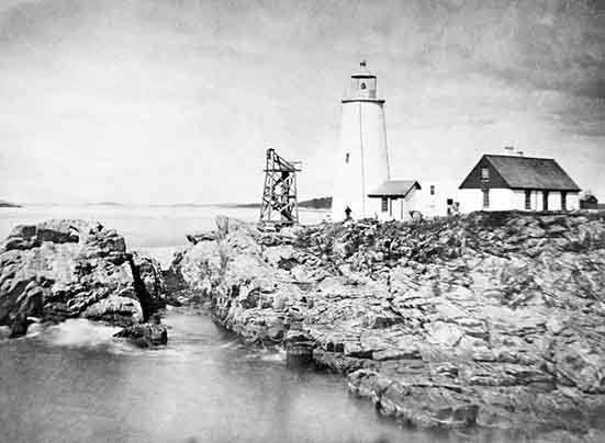National Archives Photo of the Portland Head Light