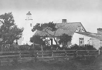 1858 Sodus Bay Lighthouse photo from National Archives