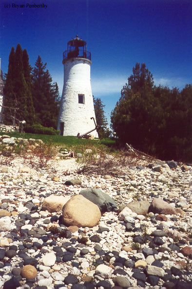 Photo of the Old Presque Isle Lighthouse.