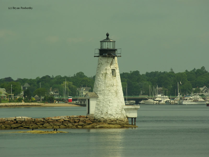 Photo of the Palmer Island Lighthouse.