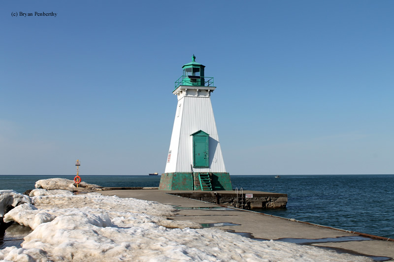 Photo of the Port Dalhousie Front Range Lighthouse.