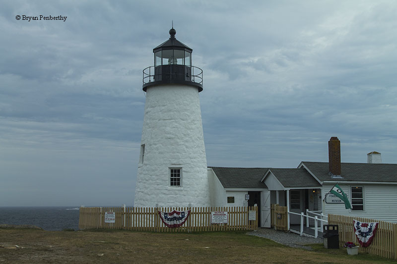 Photo Of The Pemaquid Point Lighthouse. Great Pictures