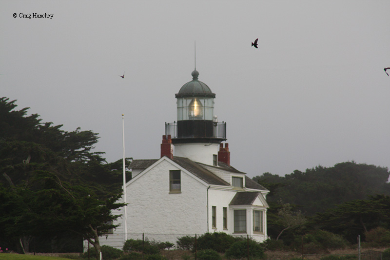 Photo of the Point Pinos Lighthouse.