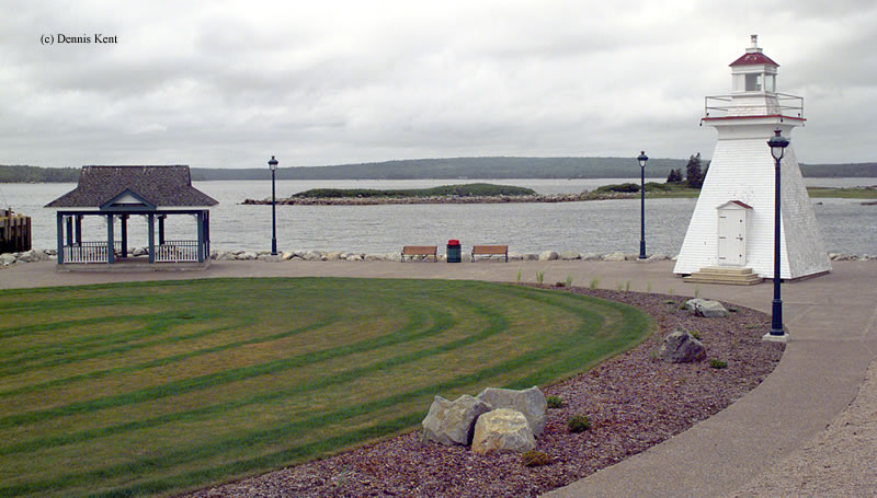 Photo of the Port Medway Lighthouse.
