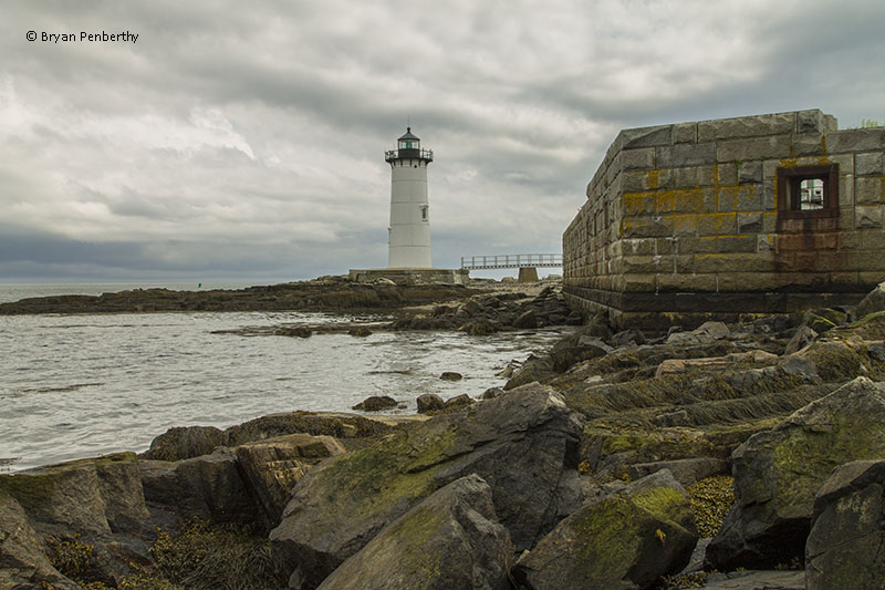 Photo of the Portsmouth Harbor Lighthouse.