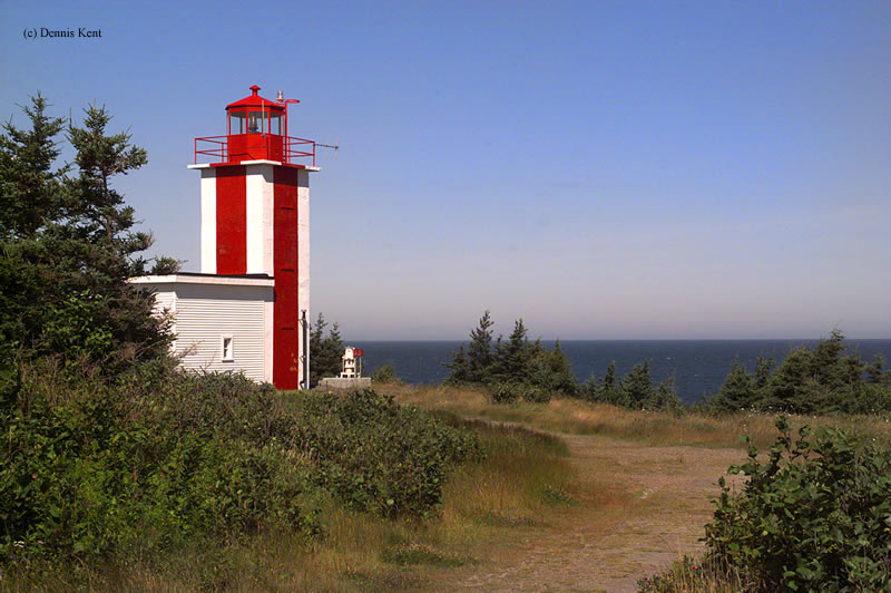 Photo of the Point Prim Lighthouse.