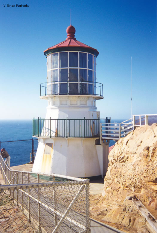 Photo of the Point Reyes Lighthouse.