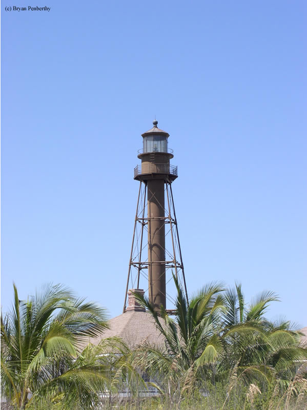 Photo of the Sanibel Island Lighthouse.
