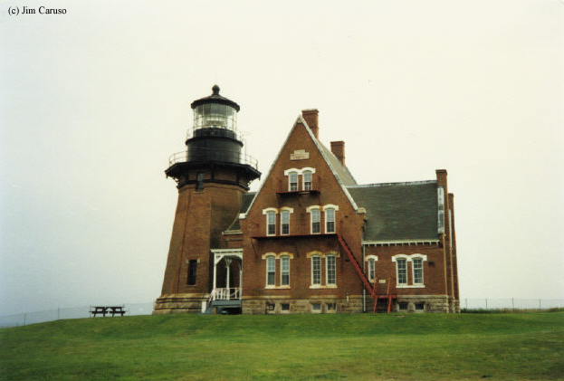 Photo of the Block Island Southeast Lighthouse.