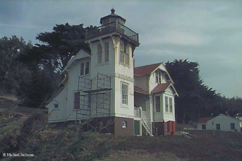 Photo of the San Luis Obispo Lighthouse.