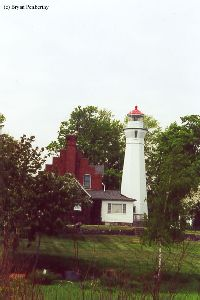 Shot of the lightstation from the rear.