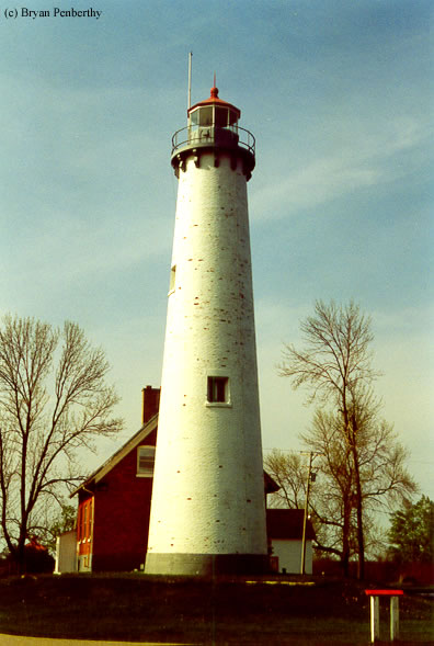 Photo of the Tawas Point Lighthouse.