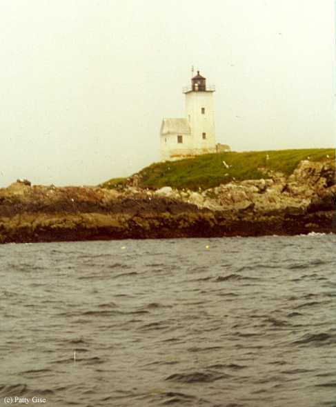 Photo of the Two Bush Island Lighthouse.